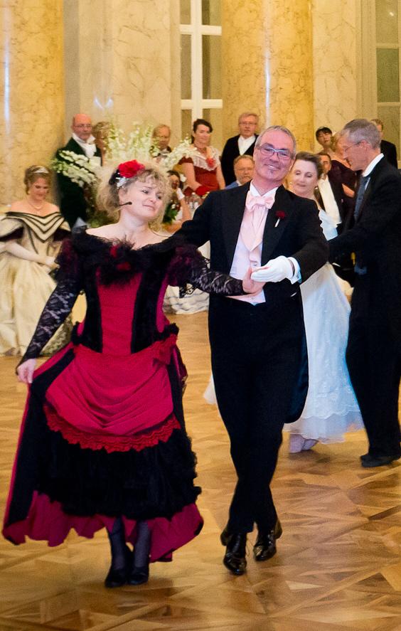 creanc Ball Tanzschule Dresden - Sylvia Hartung - Tanzkurs und Ball Wien 2012